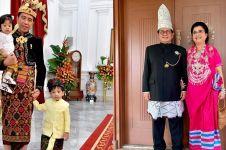 Gaya 6 pejabat ikut upacara HUT RI ke-74 di Istana, Indonesia banget
