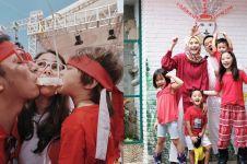 10 Momen seleb Tanah Air rayakan HUT RI 17 Agustus, seru abis