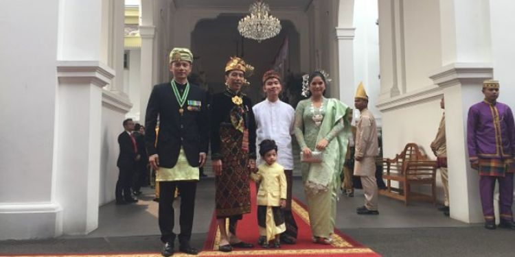 Tingkah Jan Ethes saat bertemu AHY & Annisa Yudhoyono, bikin gemas