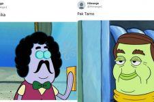 13 Cocoklogi tokoh kartun SpongeBob dan artis Indonesia ini kocak