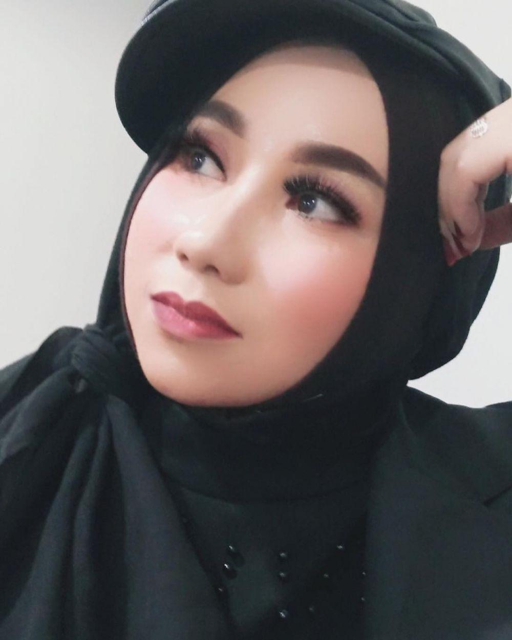 potret upiak mengenakan hijab © 2019 brilio.net