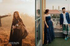 9 Momen prewedding Tretan Muslim dan kekasihnya, gayanya kocak