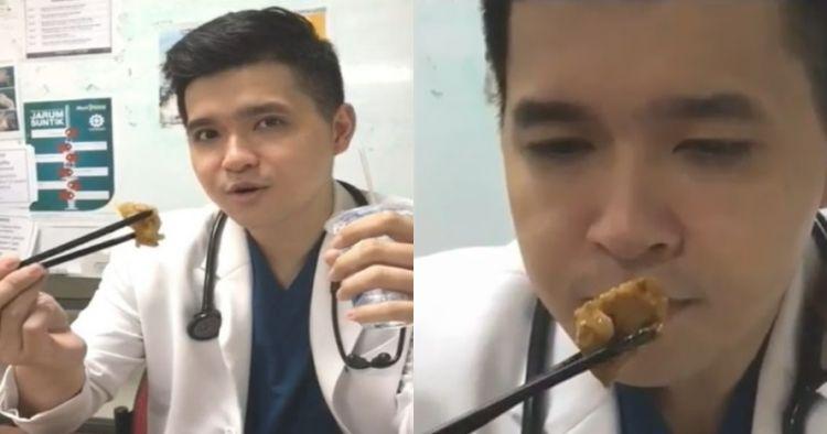Viral tips lucu dokter ganteng, makan gorengan tanpa kolesterol