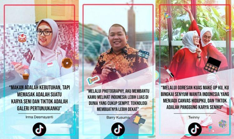 Nih 3 Kreator TikTok yang perkenalkan Indonesia lewat video pendek
