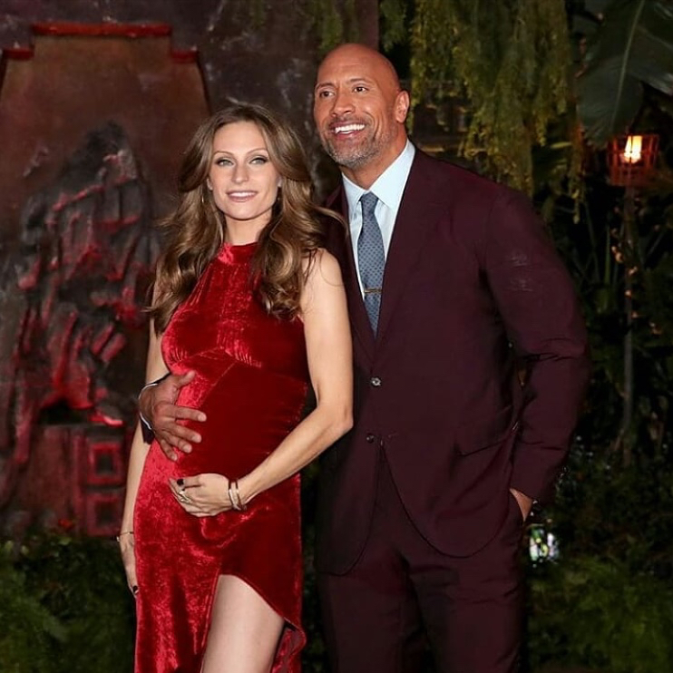 Potret kebersamaan Dwayne Johnson 'The Rock' © 2019 brilio.net