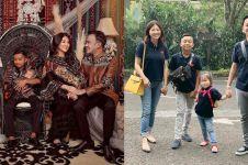 6 Gaya pemotretan keluarga Ruben Onsu bertema etnik, ada Betrand