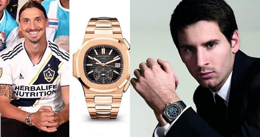 Jam tangan mewah milik 5 pesepak bola dunia, milik CR7 Rp 20 miliar