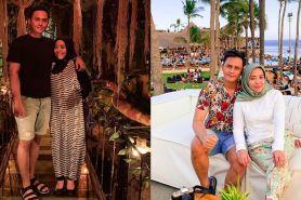 9 Potret liburan Muzdalifah & Fadel di Bali, lengket bak prangko