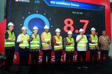 5 Fakta uji coba 5G Smartfren, kecepatan download tembus 8,7 Gbps