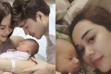 Aura Kasih umumkan nama anak pertama, ini arti namanya