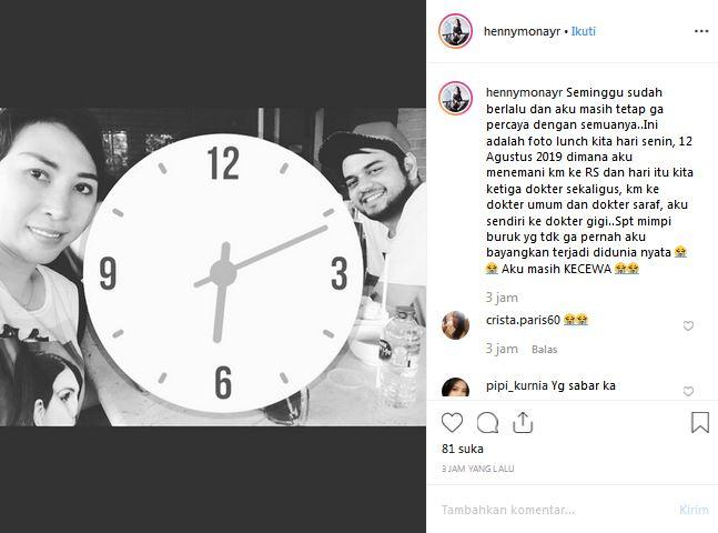 Istri Rio Reifan ungkap kekecewaan istimewa