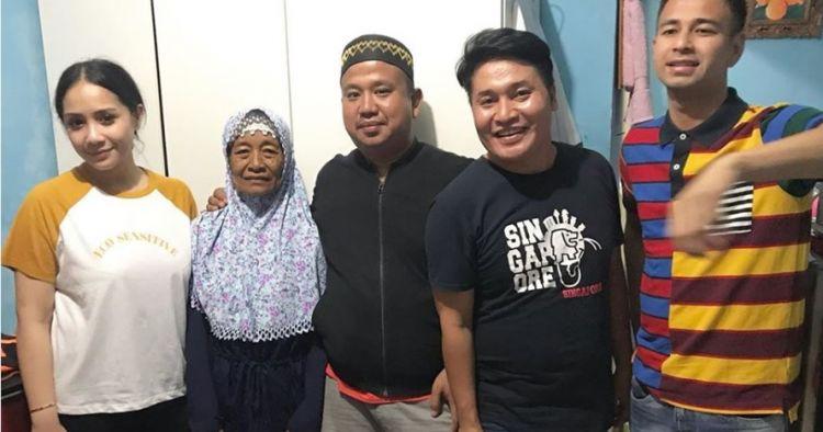 4 Momen kedekatan ibunda Merry dengan keluarga Raffi Ahmad