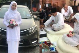 Ayah kritis, pengantin ini tunda pernikahan sejam sebelum akad