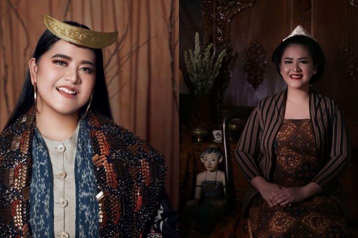 8 Pesona Kahiyang Ayu kenakan busana daerah Indonesia, cantik pol