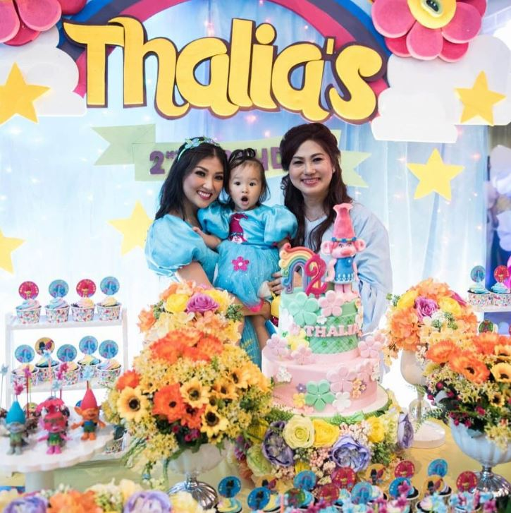 Inspirasi pesta ulang tahun anak seleb bertema kartun  © 2019 brilio.net