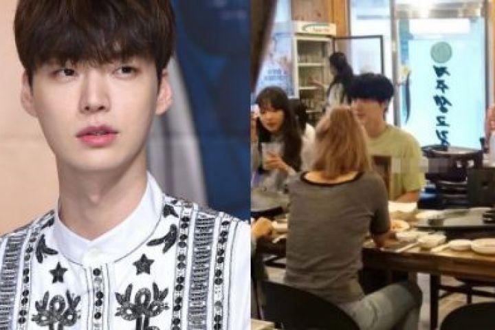 Ahn Jae-hyun rayakan ulang tahun dengan 3 wanita, tanpa istri