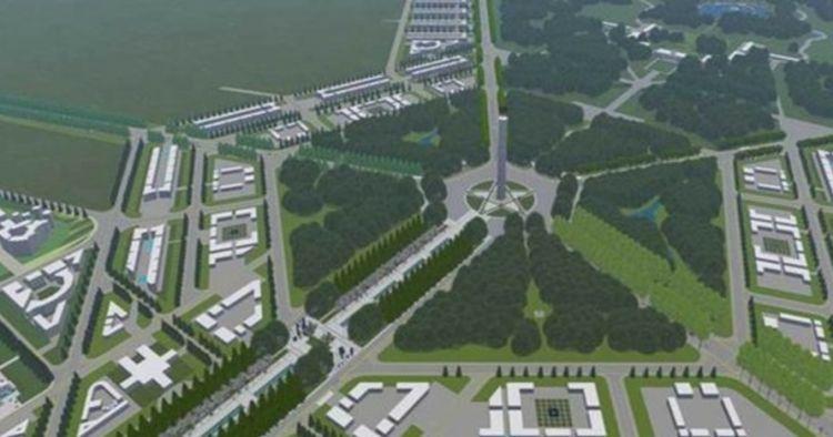 7 Desain awal ibu kota baru di Kalimantan, berkonsep forest city