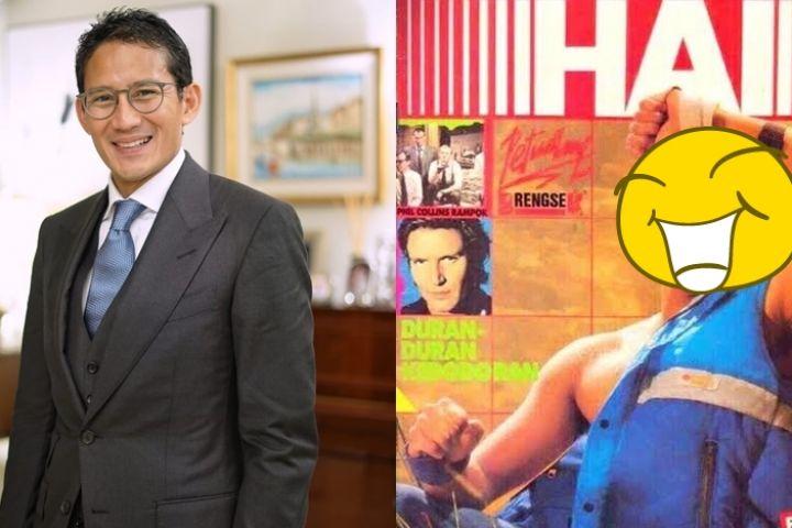 Potret masa muda Sandiaga Uno jadi cover majalah, curi perhatian