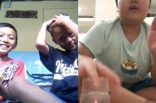 10 Kelakuan anak kecil saat ngevlog ini bikin nyengir