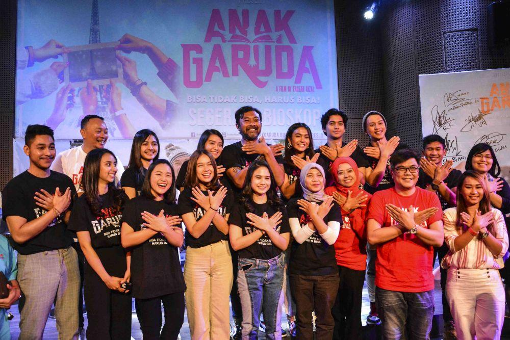 7 Fakta film Anak Garuda, kisah riil inspiratif anak kaum marjinal Istimewa