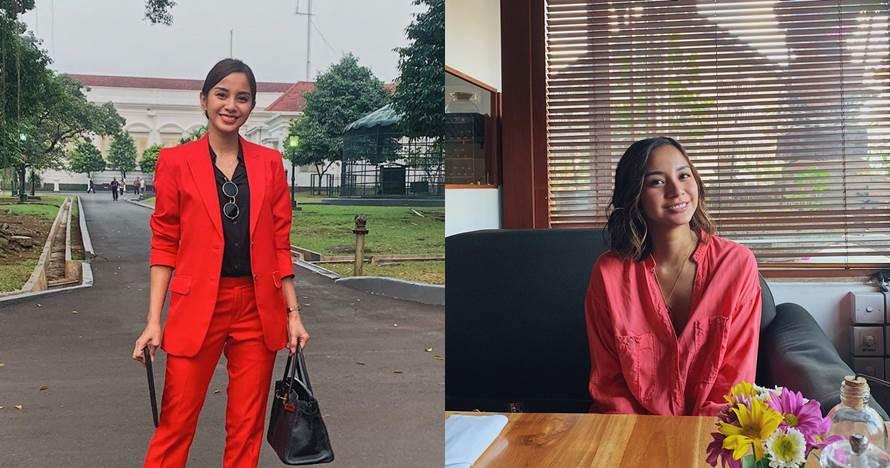Unggah foto bareng pria bule, inikah pacar baru Kirana Larasati?