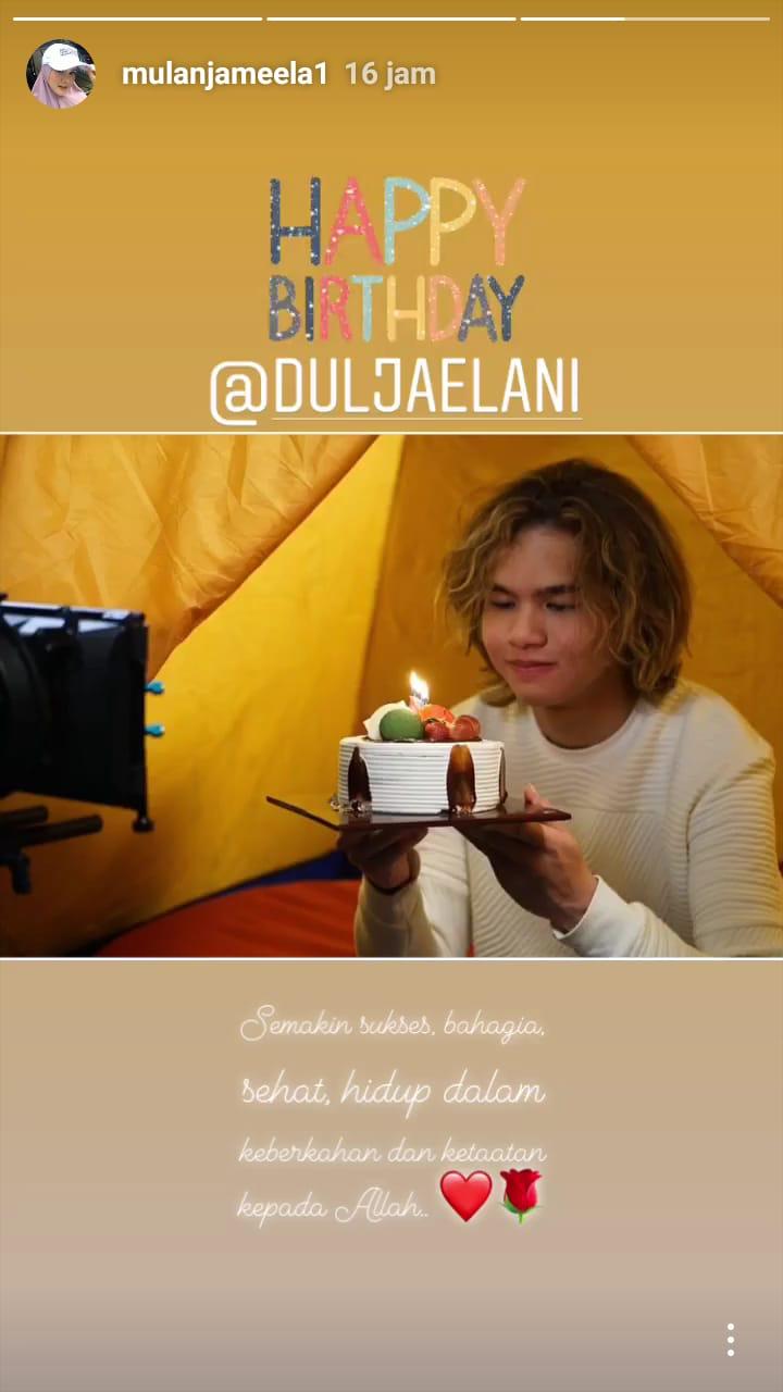 Mulan Jameela dan Dul instagram