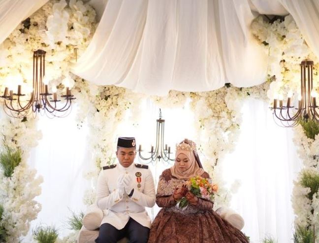 polwan tentara menikah PUBG © 2019 brilio.net