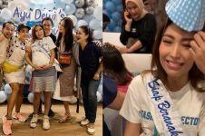 8 Momen seru baby shower Ayu Dewi, meriah dipenuhi balon