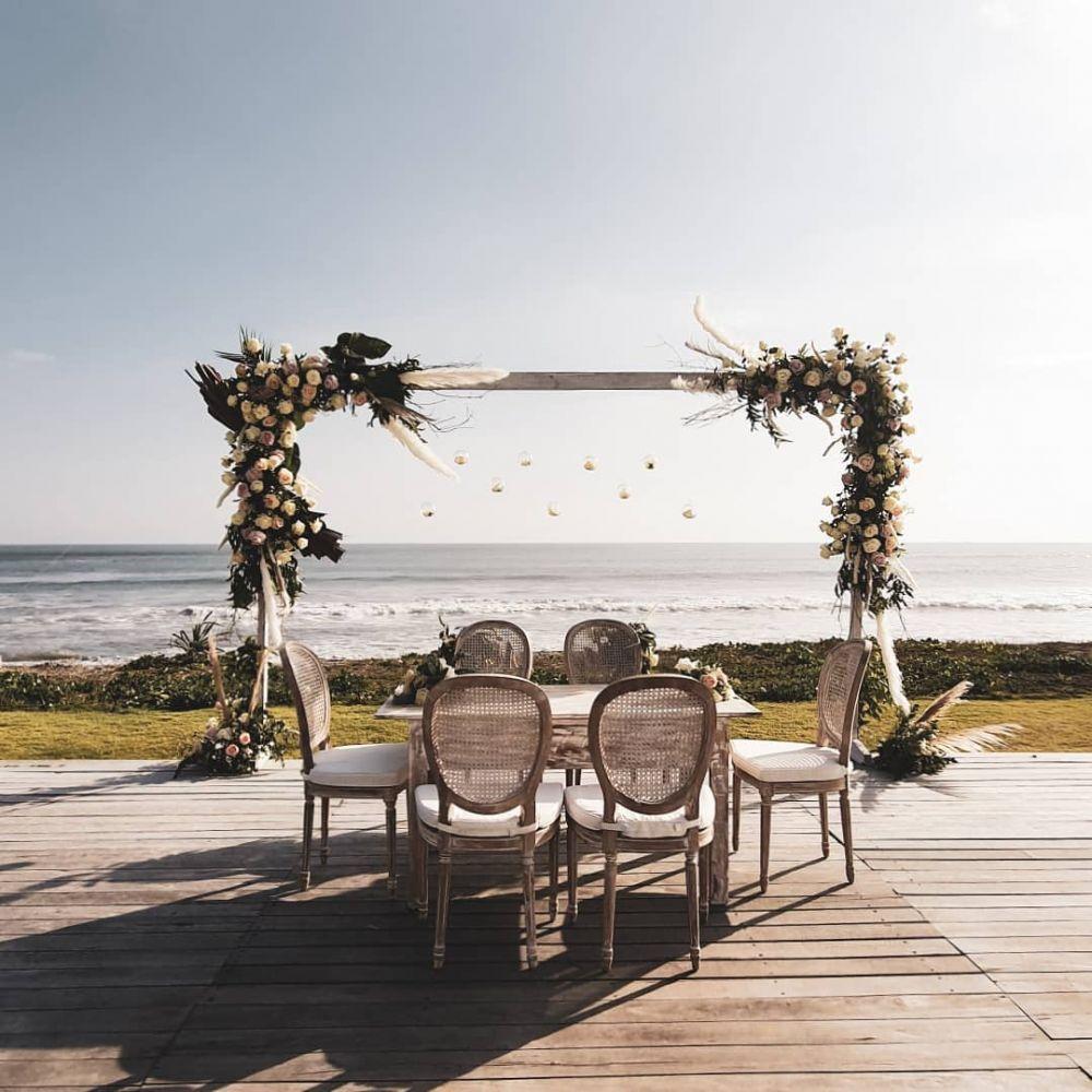 pernikahan asta ran © 2019 brilio.net