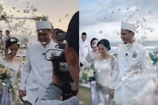 10 Tahun pacaran, ini 10 momen pernikahan Asta RAN & Nurul Aziza