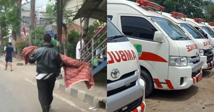 Sedih, ayah gendong jenazah anak karena tak difasilitasi ambulans