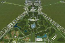 Ibu kota baru butuh 180 ribu hektare, setengahnya ruang terbuka hijau