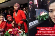 8 Momen pelantikan Tina Toon jadi anggota DPRD DKI Jakarta