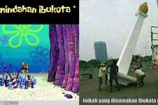 10 Meme lucu Ibu Kota pindah ke Kalimantan ini bikin cekikikan