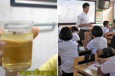 Guru ini suruh siswa minum air urinnya, alasannya tak masuk akal