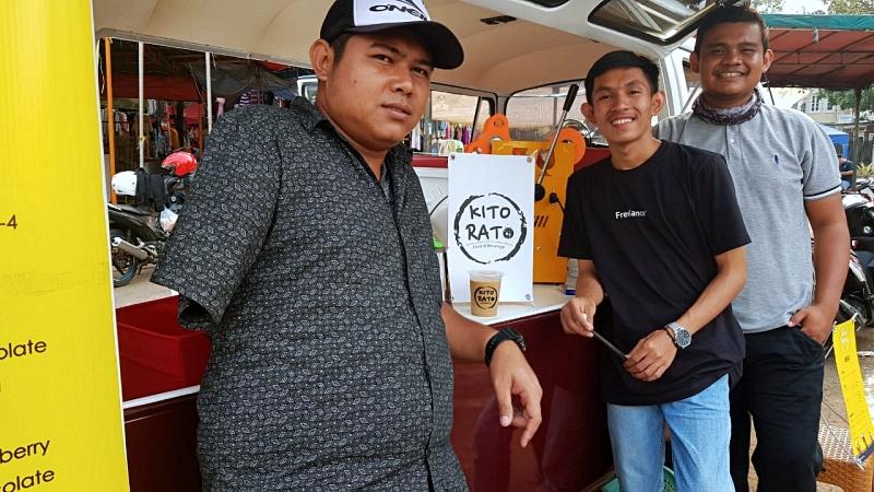 Kito Rato, kedai minuman ala trio disabilitas yang menginspirasi