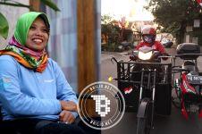 Sri Lestari, disabilitas paraplegia yang migunani terhadap sesama