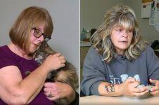 Kisah wanita temukan kucing peliharaan usai 11 tahun hilang bikin haru