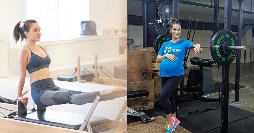 Jaga kondisi tubuh, 7 seleb ini tetap rutin olahraga saat hamil