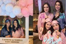 10 Momen seru baby shower Nabila Syakieb & Yasmine Wildblood