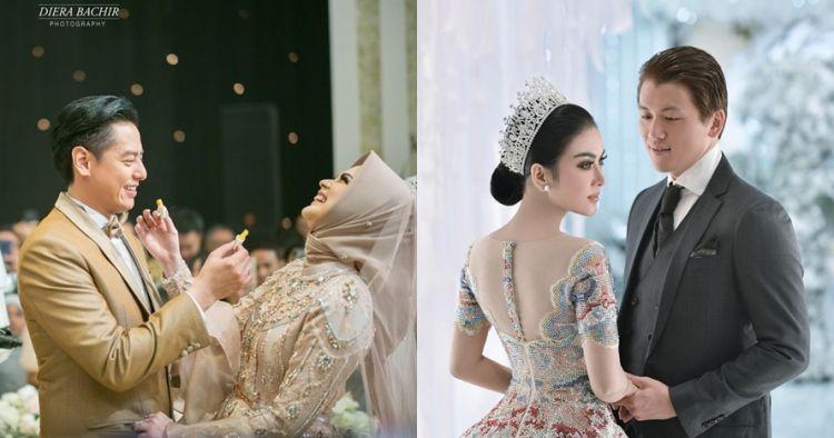 5 Seleb beri kejutan untuk pasangan di pesta pernikahan, so sweet