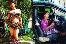 Mimi Peri beli mobil untuk ibunya 'Ratu Clarion' di kampung