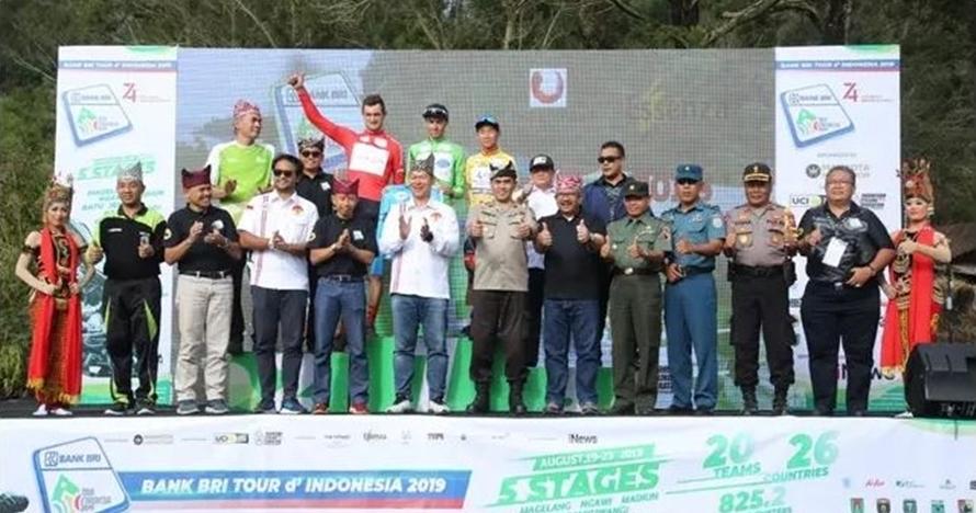 Tanjakan Ijen, level tertinggi dan tersulit di Tour de Indonesia