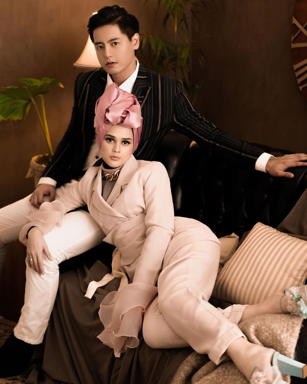 Seleb ini menikah dengan pria keturunan Tionghoa © 2019 brilio.net