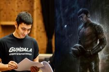 5 Fakta kostum Gundala yang dikenakan Abimana Aryasatya di film