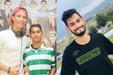 Momen lepas kangen Martunis dan Cristiano Ronaldo, penuh haru