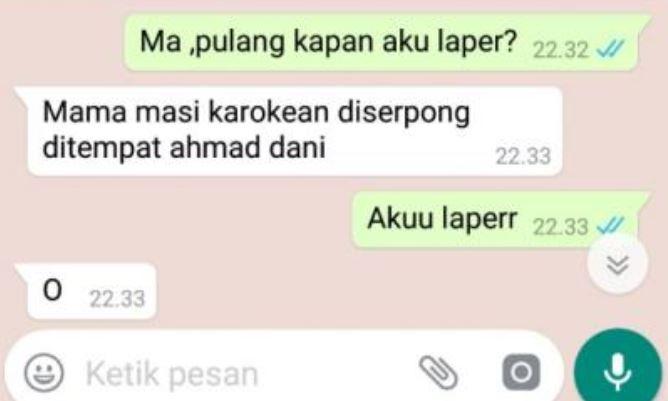 chat bilang mama © 2019 berbagai sumber