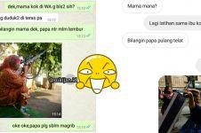 10 Chat lucu 'bilang mama' ini endingnya bikin ketawa