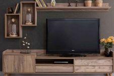 20 Desain meja TV kekinian, rumah makin bergaya