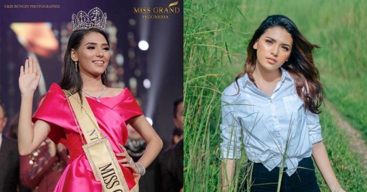 10 Pesona Sarlin Jones, Miss Grand Indonesia 2019 asal Kupang